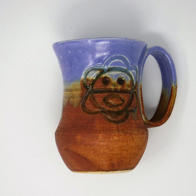 Hand-made Ceramic Mug Light Blue