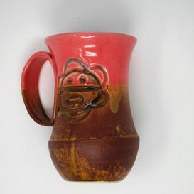 Hand-made Ceramic Mug - Pink