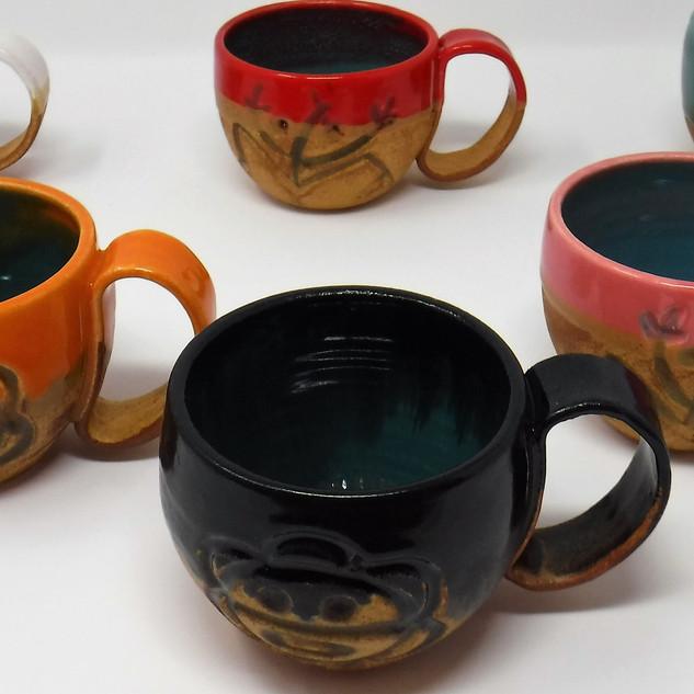 Hand-made Ceramic Mugs