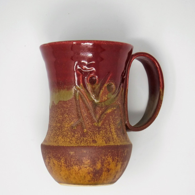 Hand-made Ceramic Mug - Wine