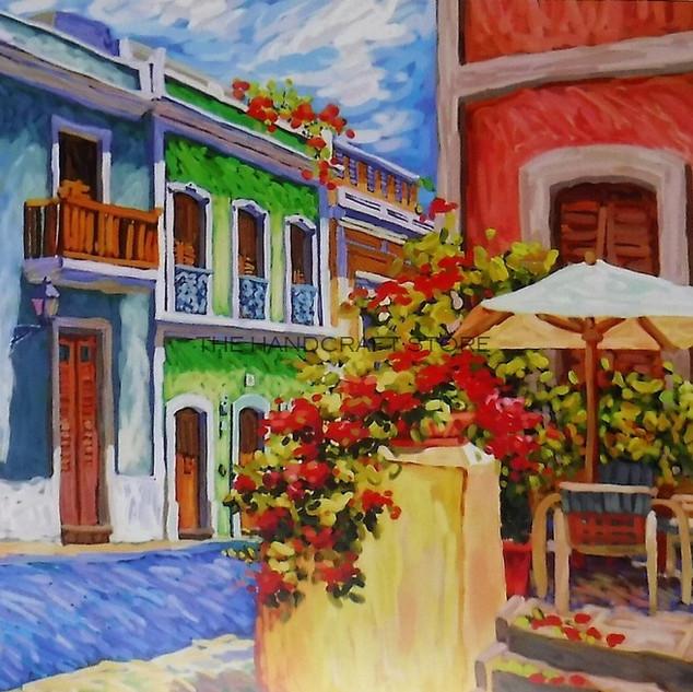 Calle Cristo desde El Convento