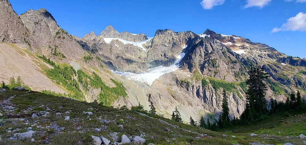 Mount Shuksan in the Pacific Northwest