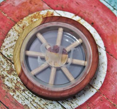 Cedar Wagon Wheel