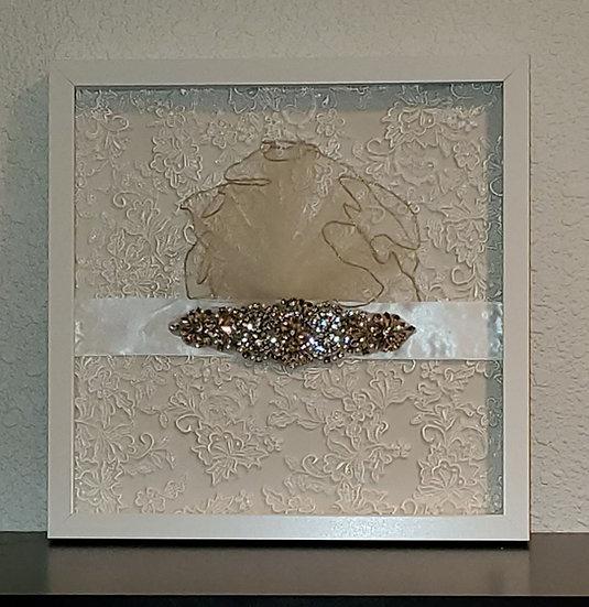 12x12 Bridal Shadow Box