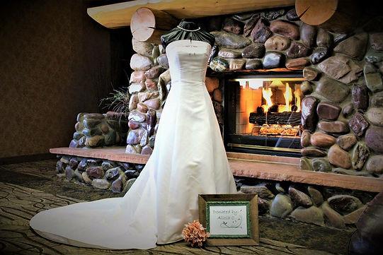 Donated wedding dress