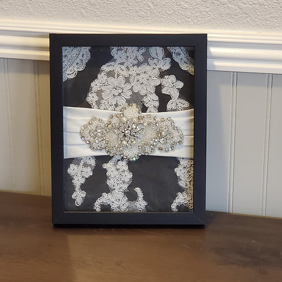8x10 Bridal Shadow Box