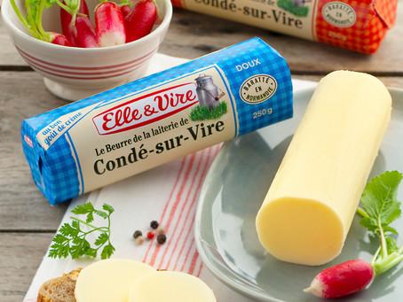 Le Beurre de la Laiterie de Condé-sur-Vire Elle&Vire