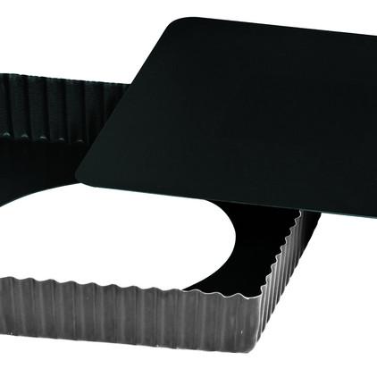 Gobel-Obsidian - Tarte cannelée carrée