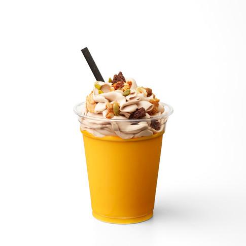 Laure Duchêne MilkShake ananas, fruit de la passion, mangue et chocolat