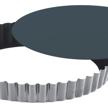 Gobel-Obsidian - Tourtière ronde cannelée