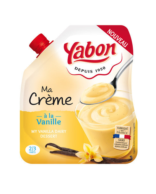 Ma Crème - à la vanille