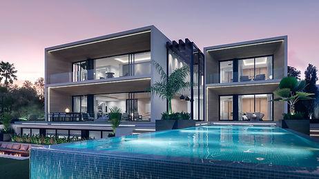 Nieuwbouw woningen aan de Costa del Sol New building villas