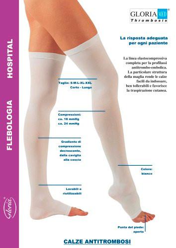 Gloria calze terapeutiche gambaletto pre