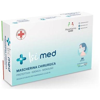 Mascherine protettive chirurgica Tnt 3D (20 pz.)