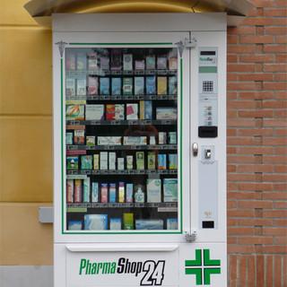 Distributore automatico farmacie parafarmacie sarco srl pharmashop24