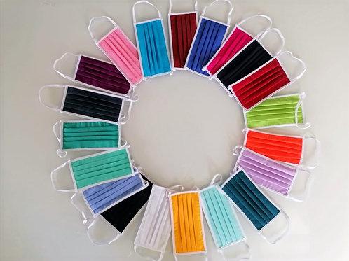 Mascherine cotone colorate (2p.)