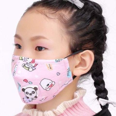 Mascherine bambini colorate (2 pezzi)
