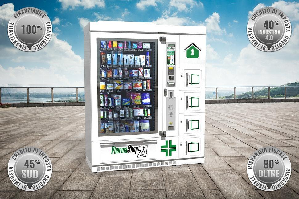 Distributore automatico per farmacia par