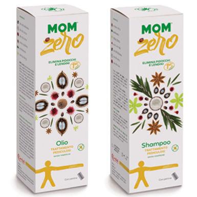 Mom zero - shampoo e olio