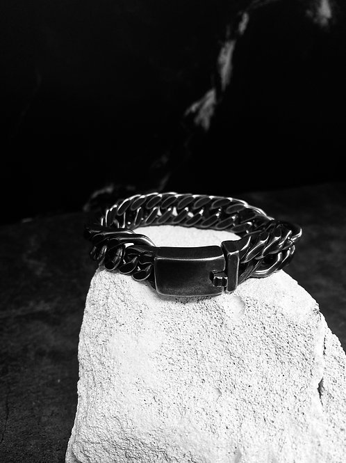Dark Stainless Steel Bracelet KL71831