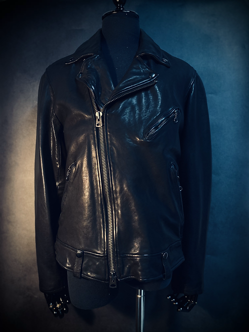 Vintage Biker Leather Jacket M17