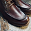 Thumbnail: Vintage Full Grain Leather Brogue Boot 618-51