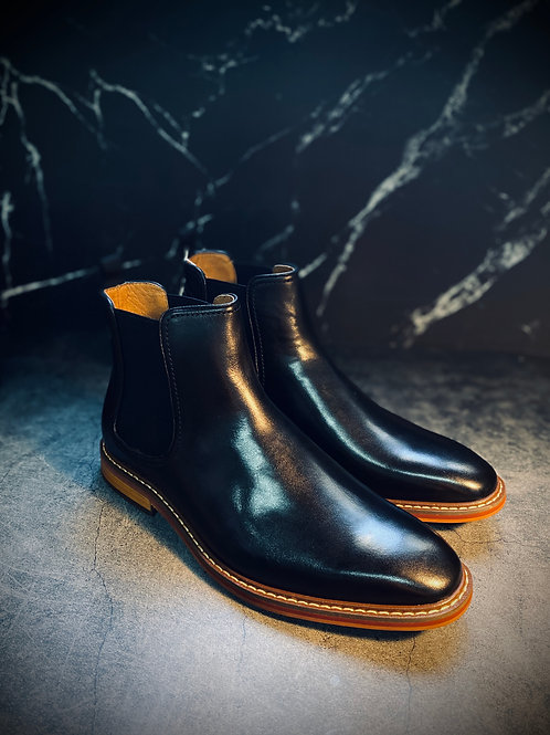 Henessy Leather Chelsea Boot 867805H