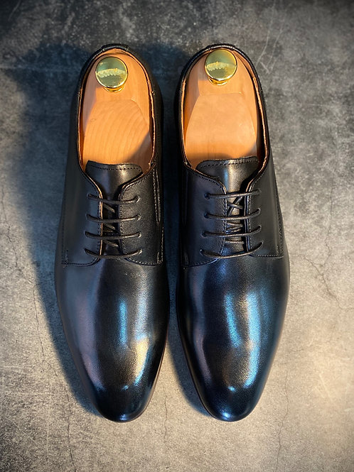 Classic Cow Leather Derby Shoes  8916