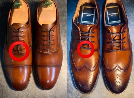 分清Oxford牛津鞋和Derby德比鞋