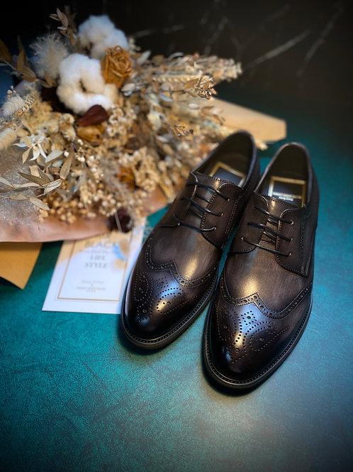Galliano復古雕花真皮皮鞋 DS0232