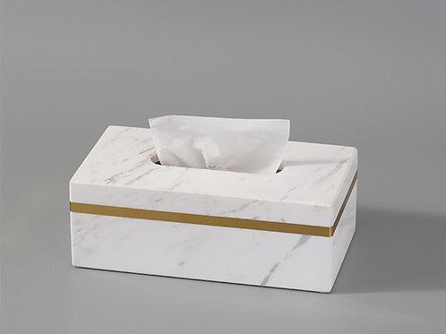 天然大理石紙巾盒