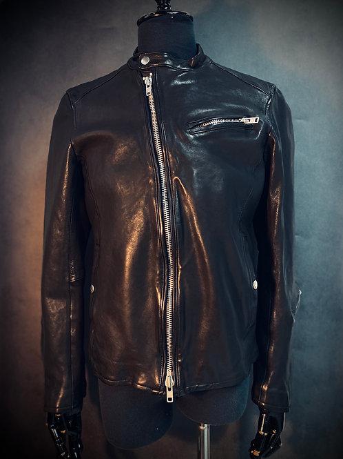 Darkness Slim Cut Leather Jacket M15