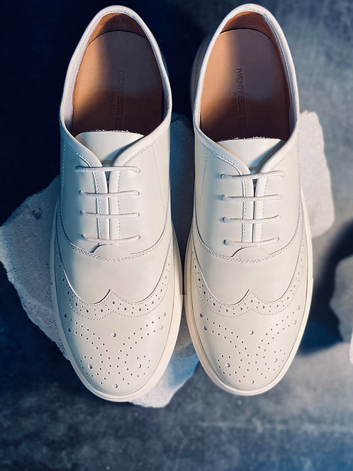 Wingtip Full Leather Sneaker 0074A