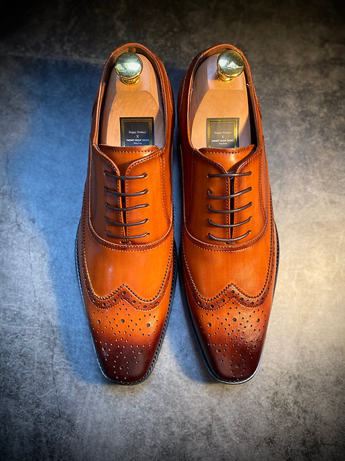 Brook Classic Leather Oxford Shoes DS683