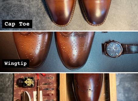 【一圖教你分清鞋頭花紋種類】🧔🏻