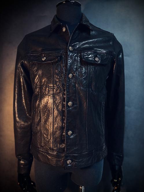 Vintage Racer Leather Jacket M16