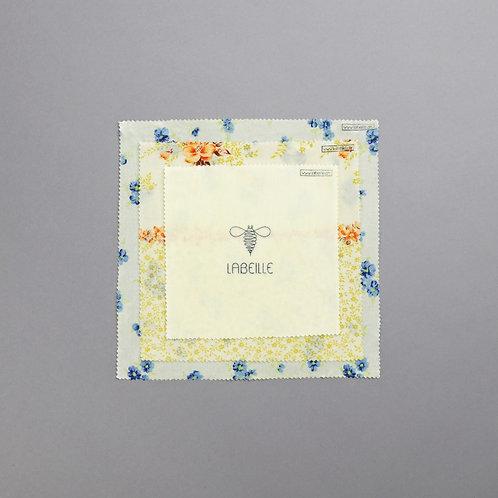 Emballage écologique à la cire d'abeille - Trio centré