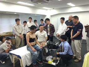 2016.9.19 ラジオ波温熱体験会 @東京 大石先生