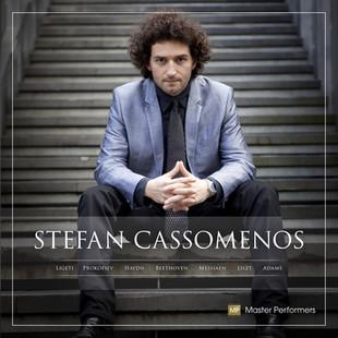 Stefan Cassomenos LIGETI   PROKOFIEV   HAYDN   BEETHOVEN   MESSIAEN   LISZT   ADAMS CD Cover