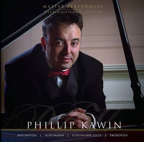 Phillip Kawin_Beethoven Schumann Schuman/Liszt Prokofiev CD cover