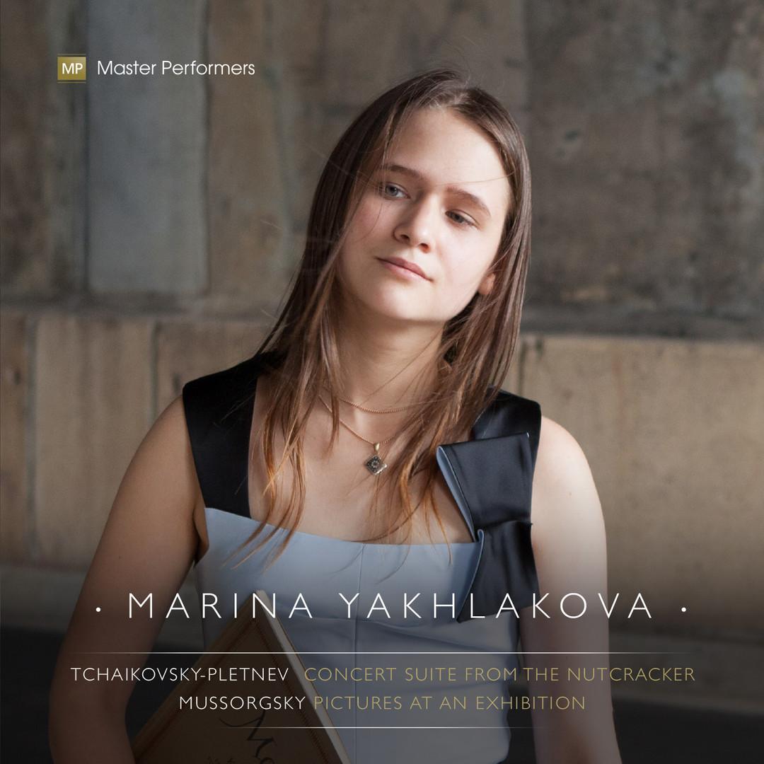 Marina Yakhlakova Tchaikovsky-Pletnev Mussorgsky CD Cover