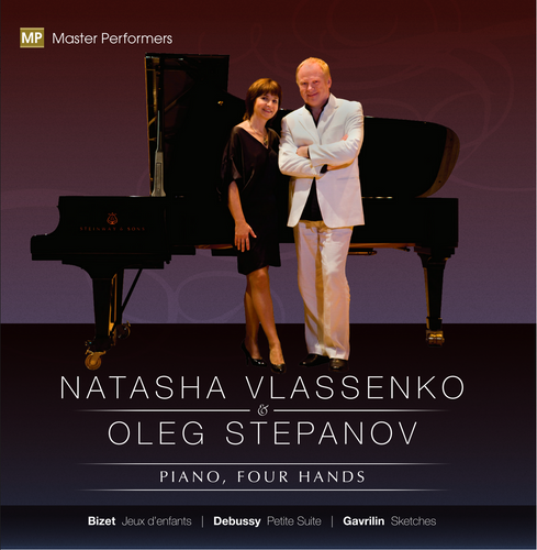Natasha Vlassenko Oleg Stepanov CD Cover