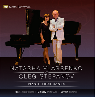Natasha Vlassenko Oleg Stepanov CD Cover