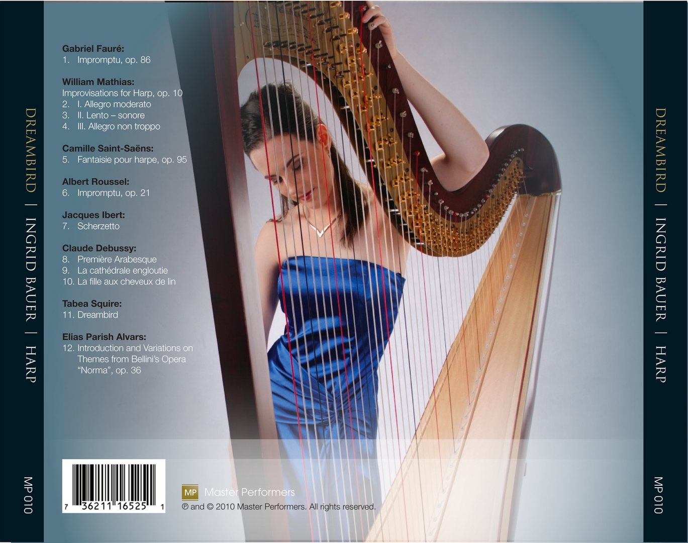 Ingrid Bauer Dreambird CD Tray