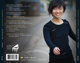 Joselyn Ho Luminous Sounds CD Tray