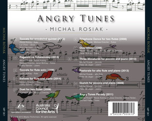 Michal Rosiak Angry Tunes CD Tray