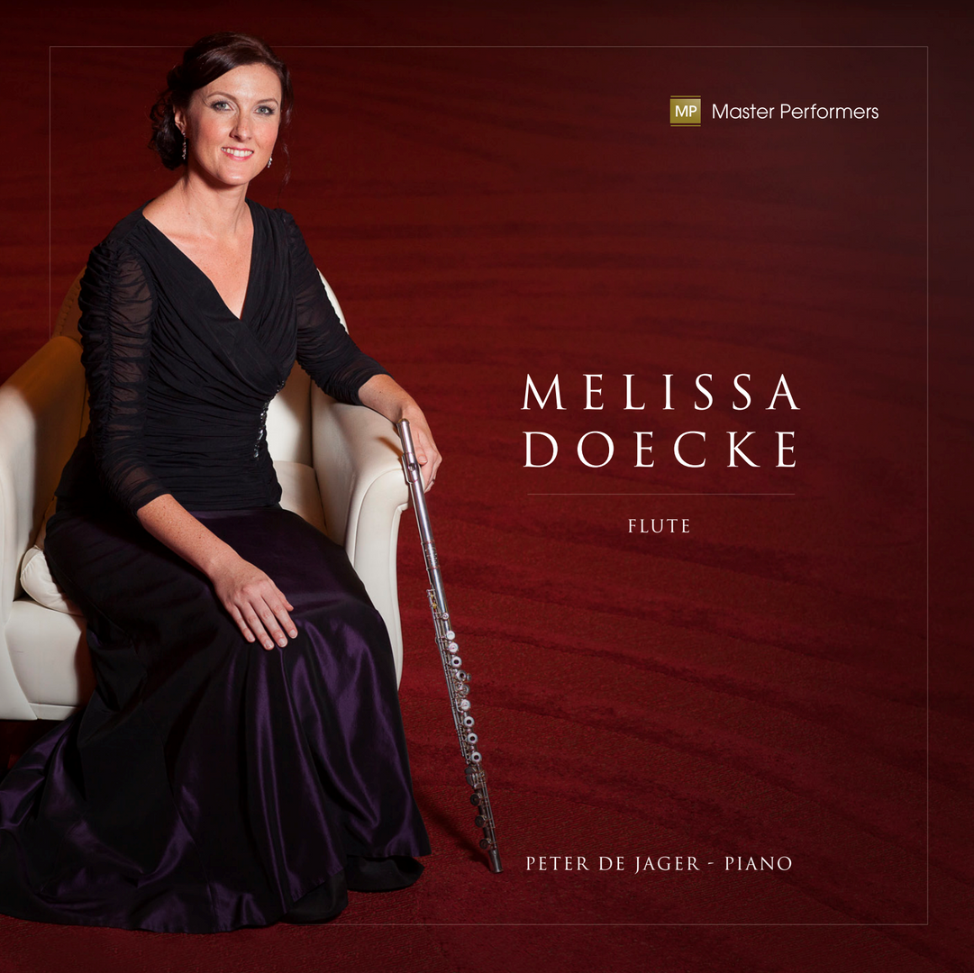 Melissa Doecke Peter de Jager CD Cover