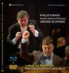 Beethoven Piano Concerto No 3 Op.37 Phillip Kawin Gerard Schwarz RNO