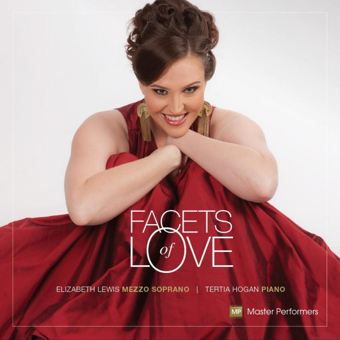 Elizabeth Lewis Tertia Hogan Facets of Love CD Cover