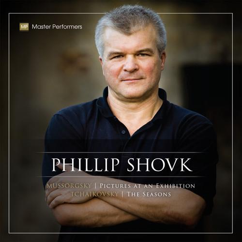 Phillip Shovk Mussorgsky Tchaikovsky CD Cover